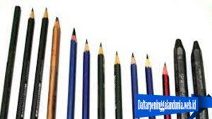 Sejarah Pensil Di dunia
