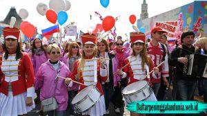 Alasan Mengapa Rusia Senang Hari Buruh