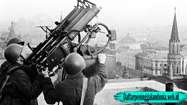 Sejarah Perang Moscow 1941 – 1942