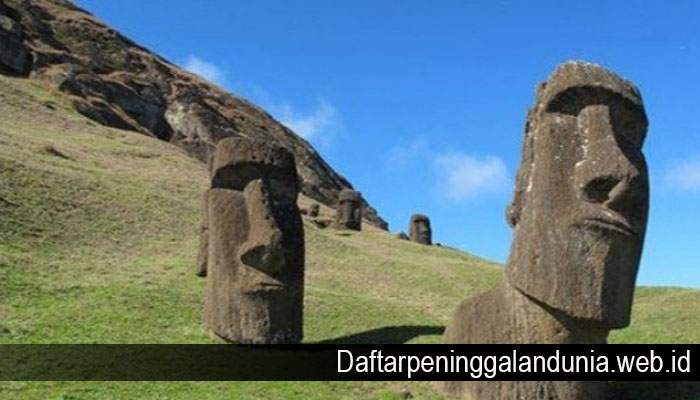 Fakta Unik tentang Sejarah Patung Moai Dipulau Paskah yang Perlu Kamu Ketahui