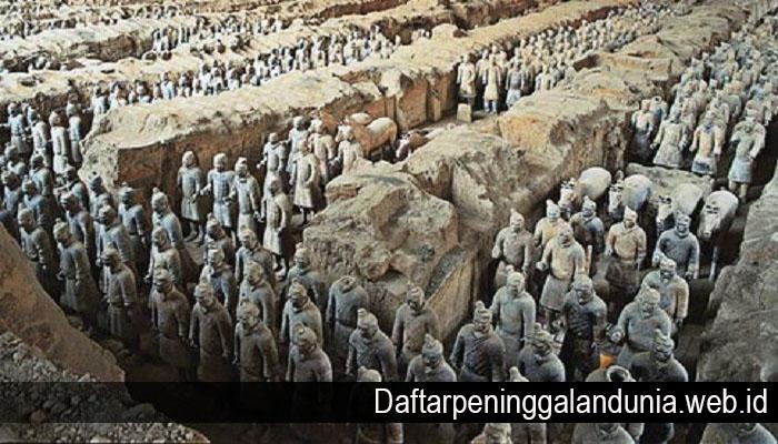 Mengenal Sejarah Tentara Terakota Dari China