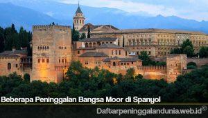 Beberapa Peninggalan Bangsa Moor di Spanyol