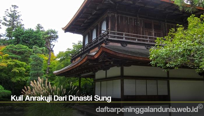 Kuil Anrakuji Dari Dinasti Sung