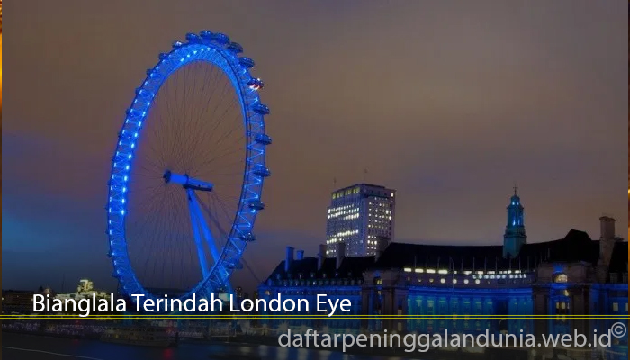 Bianglala Terindah London Eye