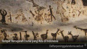 Tempat Bersejarah Dunia yang Ada di Indonesia