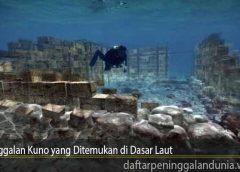 Peninggalan Kuno yang Ditemukan di Dasar Laut
